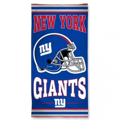 New York Giants Towel 30x60 Beach Style