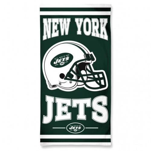 New York Jets Towel 30x60 Beach Style
