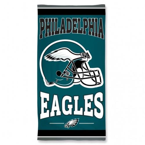 Philadelphia Eagles Towel 30x60 Beach Style