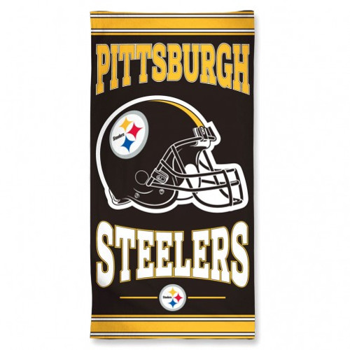 Pittsburgh Steelers Towel 30x60 Beach Style
