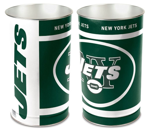 New York Jets Wastebasket 15 Inch