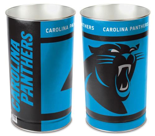 Carolina Panthers Wastebasket 15 Inch