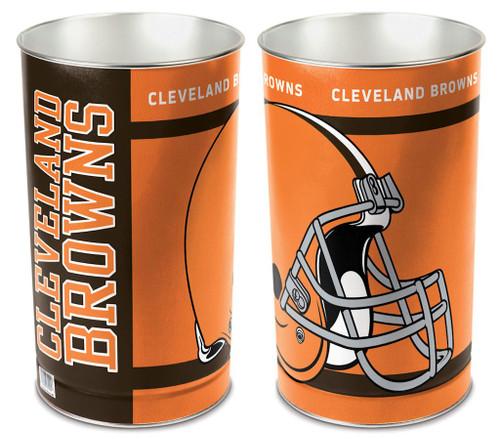 Cleveland Browns Wastebasket 15 Inch