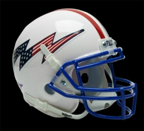 Air Force Falcons Schutt Mini Helmet - White Alternate Helmet #2 - Special Order