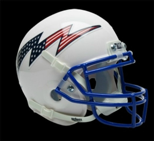 Air Force Falcons Schutt Mini Helmet - White Alternate Helmet #3 - Special Order