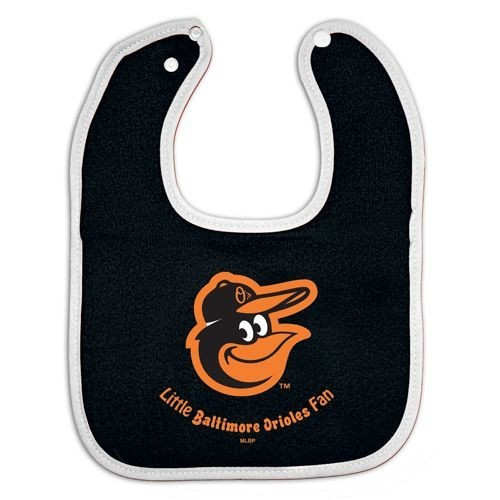 Baltimore Orioles Baby Bib - All Pro - Special Order