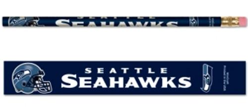 Seattle Seahawks Pencil 6 Pack