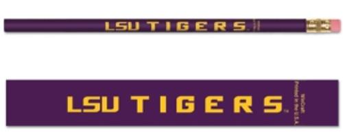 LSU Tigers Pencil 6 Pack