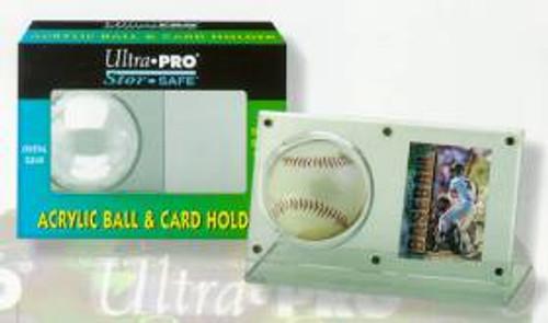 Baseball & Card Holder - Acrylic