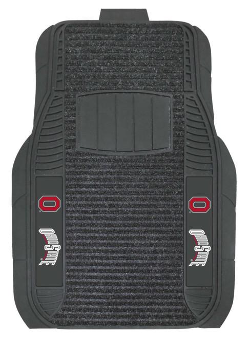Ohio State Buckeyes Car Mats - Deluxe Set