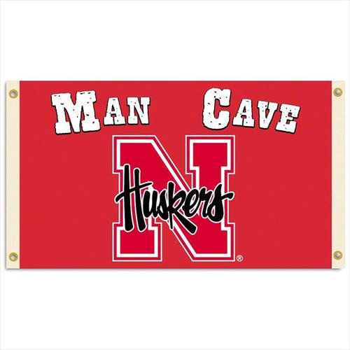 Nebraska Cornhuskers 3'x5' - Man Cave Flag