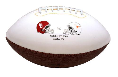 Oklahoma Sooners Texas Longhorns Football 2009 Red River Rivalry