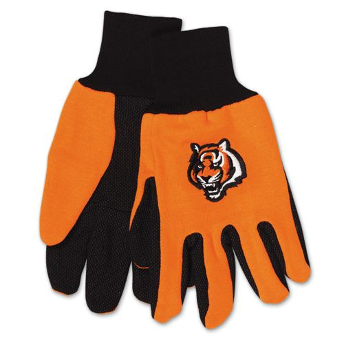 Cincinnati Bengals Two Tone Adult Size Gloves