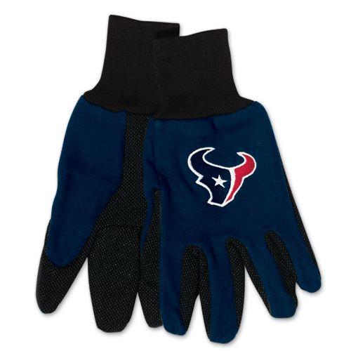 Houston Texans Two Tone Adult Size Gloves