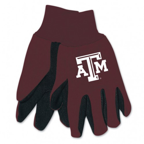 Texas A&M Aggies Two Tone Gloves - Adult