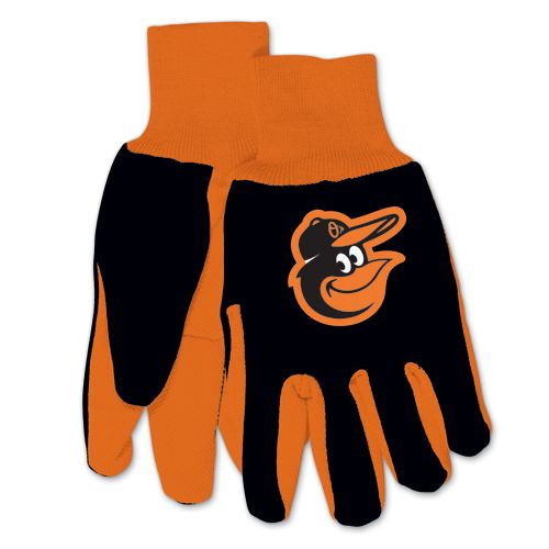 Baltimore Orioles Two Tone Gloves - Adult Size - Special Order