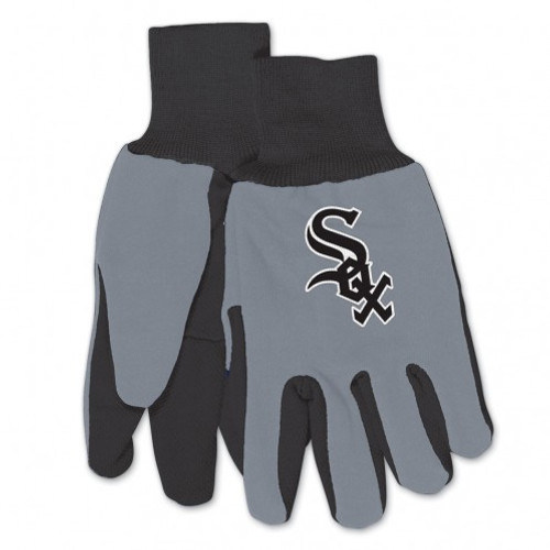 Chicago White Sox Gloves Two Tone Style Adult Size Size