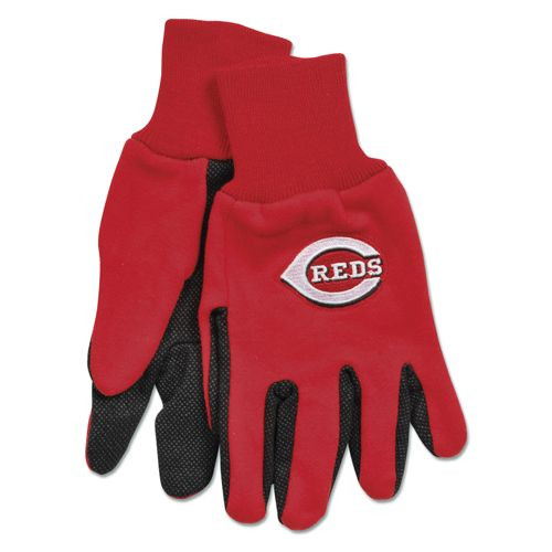 Cincinnati Reds Two Tone Gloves - Adult Size - Special Order