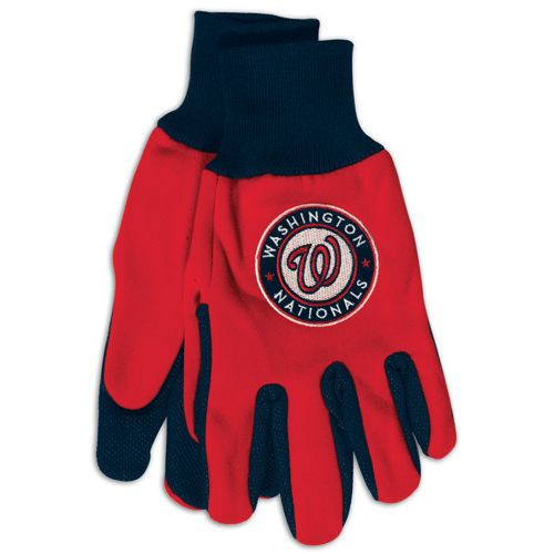 Washington Nationals Two Tone Gloves - Adult Size - Special Order