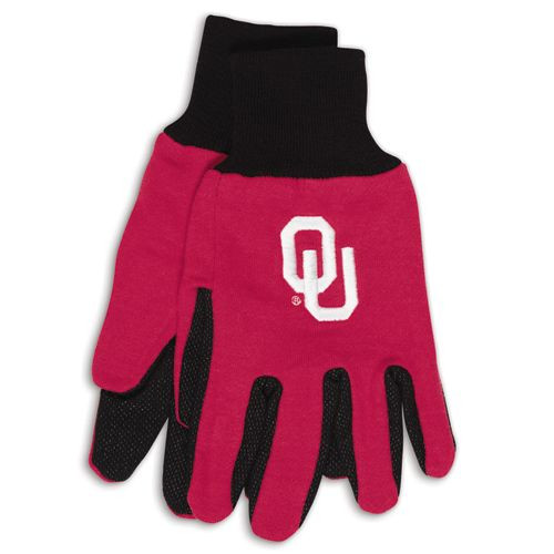 Oklahoma Sooners Two Tone Gloves - Adult