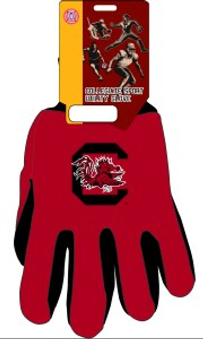 South Carolina Gamecocks Two Tone Gloves - Adult