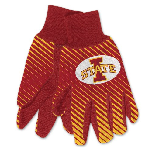 Iowa State Cyclones Two Tone Gloves - Adult