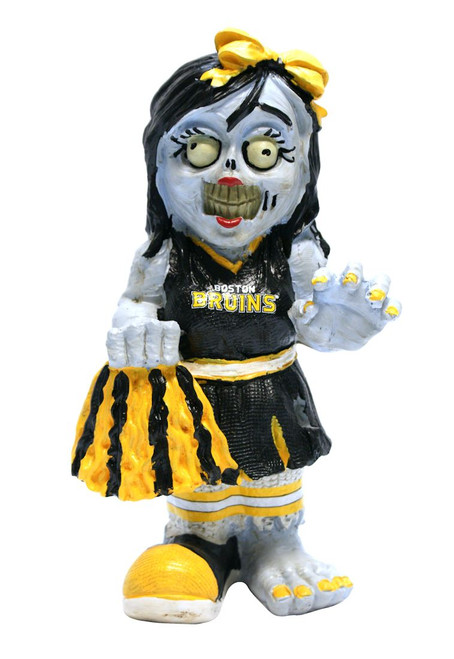 Boston Bruins Zombie Cheerleader Figurine