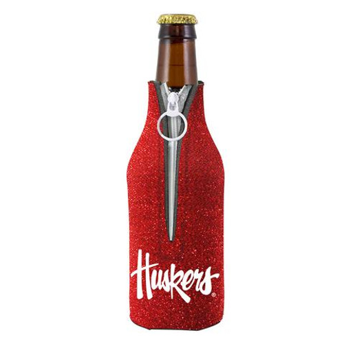 Nebraska Cornhuskers Bottle Suit Holder - Glitter
