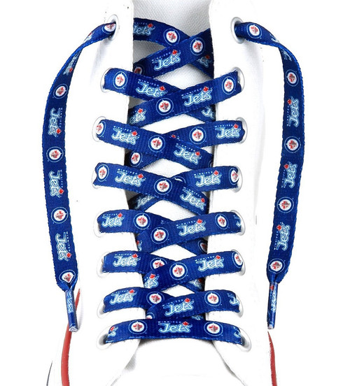 "Winnipeg Jets Shoe Laces - 54"" - Special Order"
