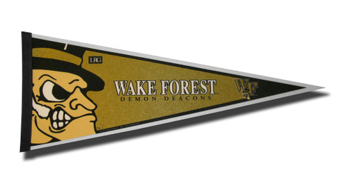 Wake Forest Demon Deacons Pennant 12x30 Carded Rico