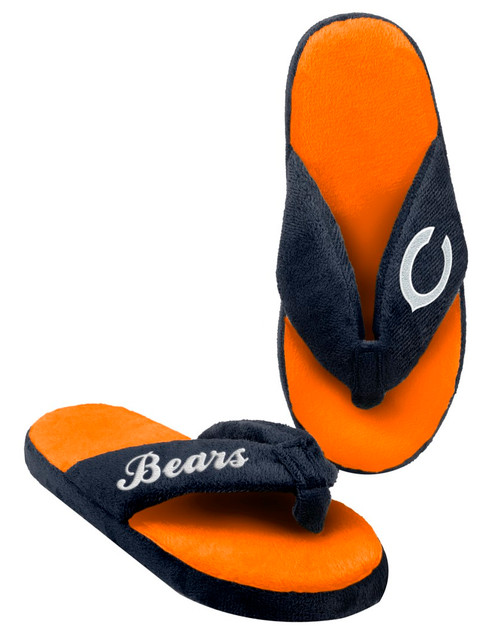 Chicago Bears Slippers - Womens Thong Flip Flop (12 pc case)