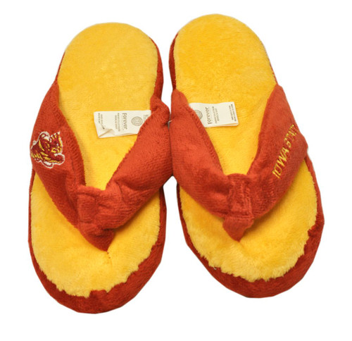 Iowa State Cyclones Slippers - Womens Thong Flip Flop (12 pc case)