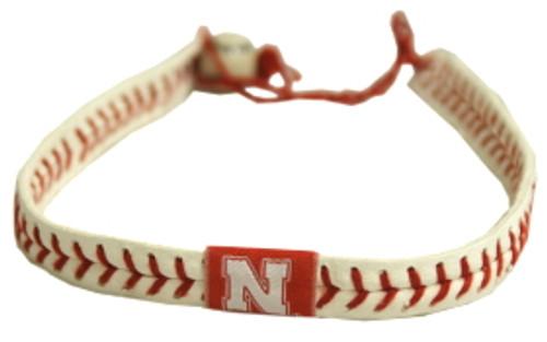 Nebraska Cornhuskers Classic Baseball Necklace
