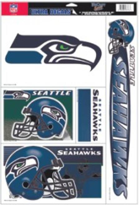 Seattle Seahawks Decal 11x17 Ultra
