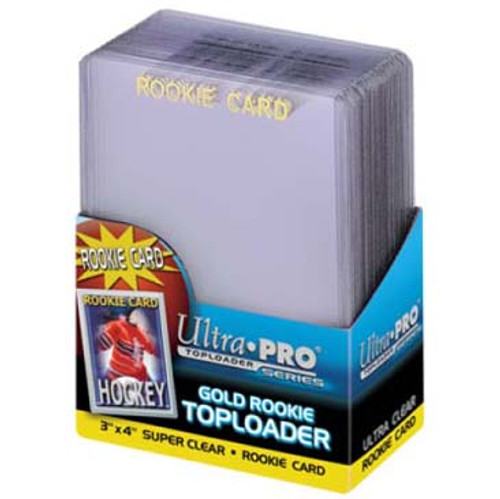 "Top Loader - 3""x4"" Gold Rookie (25 per pack)"