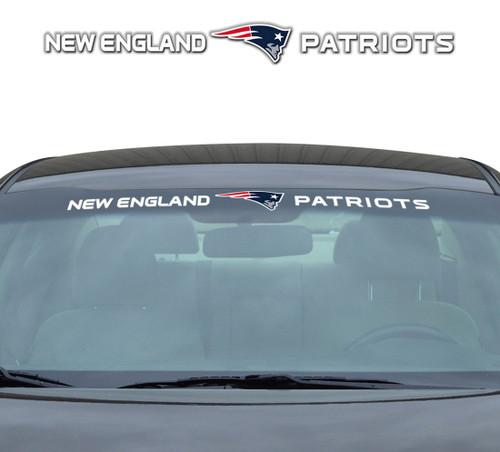 New England Patriots Decal 35x4 Windshield
