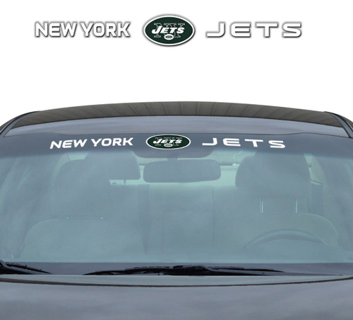 New York Jets Decal 35x4 Windshield - Special Order