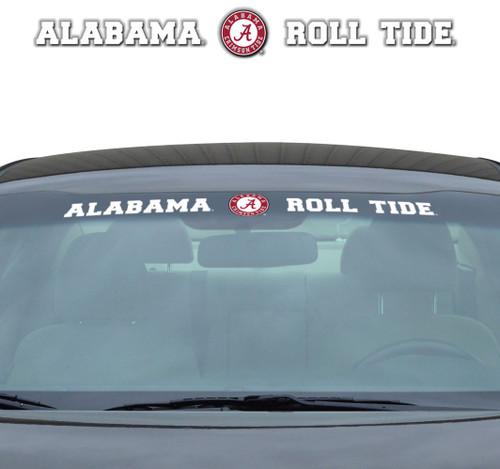 Alabama Crimson Tide Decal 35x4 Windshield
