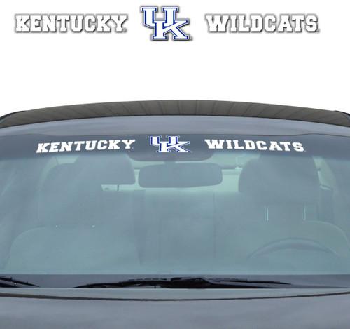 Kentucky Wildcats Decal 35x4 Windshield