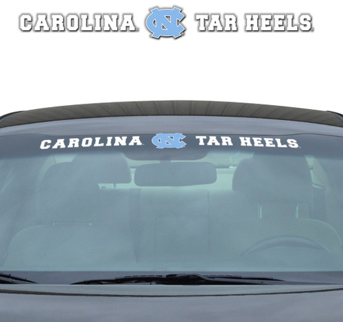 North Carolina Tar Heels Decal 35x4 Windshield