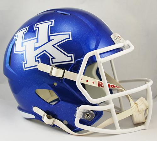 Kentucky Wildcats Deluxe Replica Speed Helmet - Special Order