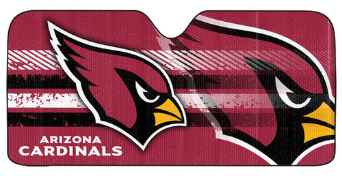 "Arizona Cardinals Auto Sun Shade - 59""x27"""