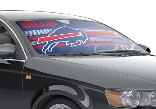 """Buffalo Bills Auto Sun Shade - 59""""x27"""""""