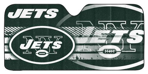 "New York Jets Auto Sun Shade - 59""x27"""