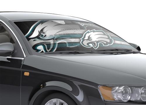 "Philadelphia Eagles Auto Sun Shade - 59""x27"""