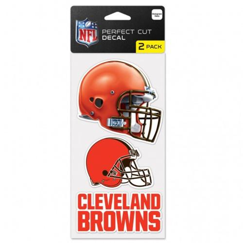 Cleveland Browns Set of 2 Die Cut Decals