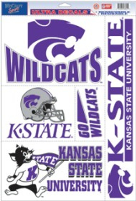 Kansas State Wildcats Decal 11x17 Ultra - Special Order