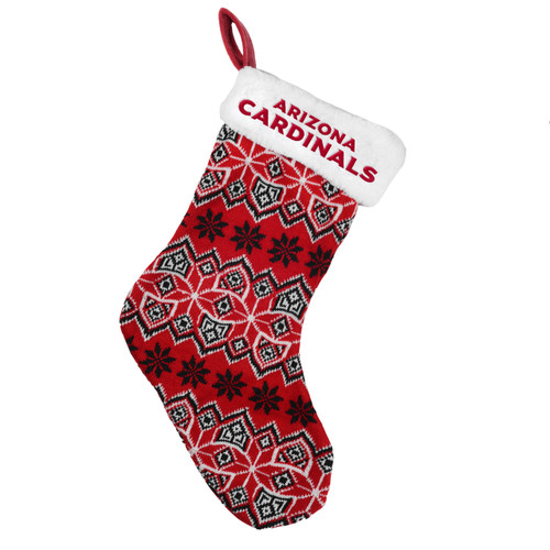 Arizona Cardinals Knit Holiday Stocking - 2015