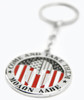 "1 NEW CUSTOM MOLON LABE ""COME AND TAKE THEM"" METAL KEY CHAIN CHROME"