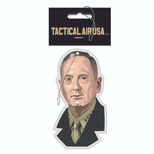 "GENERAL JAMES ""MAD DOG"" MATTIS AIR FRESHENER"